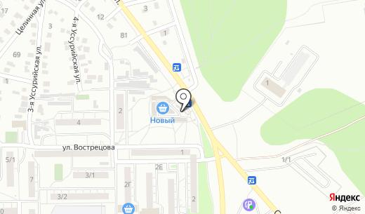 Инмарко. Схема проезда в Омске