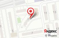Схема проезда до компании Нии Технологий Связей С Общественностью в Омске