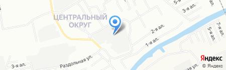 Арматурщик на карте Омска