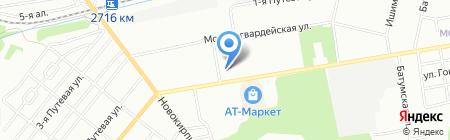 Средняя общеобразовательная школа №110 на карте Омска