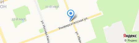Виком на карте Сургута