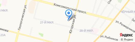 Анаит на карте Сургута