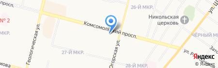 Бережная аптека на карте Сургута