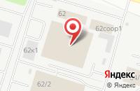 Схема проезда до компании Мегаполис в Сургуте