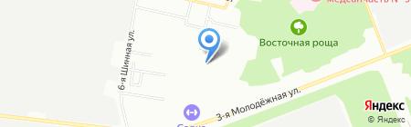 Средняя общеобразовательная школа №58 на карте Омска