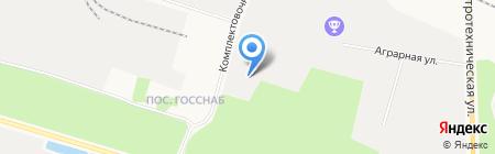 СургутАвтоПромСтрой на карте Сургута