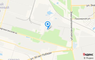 Местоположение на карте пункта техосмотра по адресу Ханты-Мансийский Автономный округ - Югра АО, г Сургут, ул Комплектовочная, д 8 соор 2