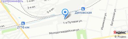 Деревянные Евроокна на карте Омска
