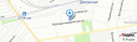 Детский сад №20 на карте Омска