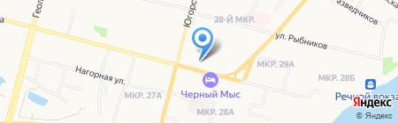 Праздник под ключ на карте Сургута