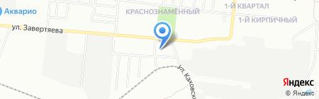 Афродита на карте Омска