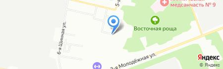 ИНТЕР-ПРОФИТ на карте Омска