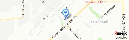 Формат на карте Омска