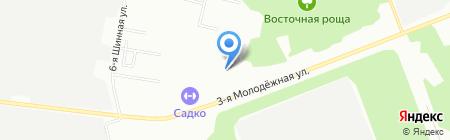 Радуга стиля на карте Омска