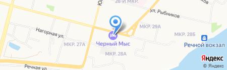 Черный мыс на карте Сургута