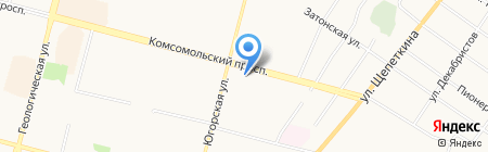 Калейдоскоп магазин книг на карте Сургута
