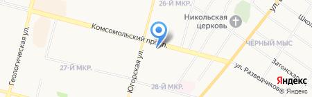 Мясной мир на карте Сургута