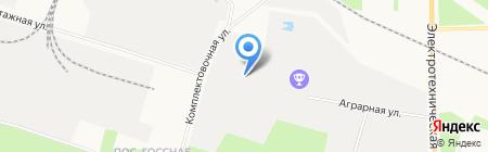 Евротара ООО компания по приему поддонов б\/у картона на карте Сургута