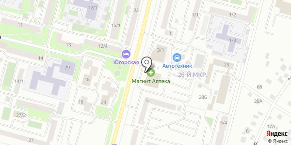 Фармадом. Схема проезда в Сургуте