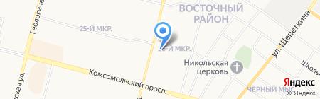 Союз-Сети на карте Сургута