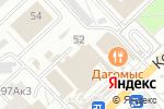 Схема проезда до компании Магазин фруктов и овощей в Омске