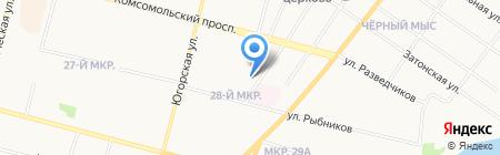Детский сад №19 Ручеек на карте Сургута