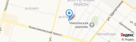 Vip на карте Сургута