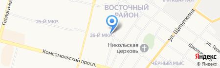 УФСИН по Ханты-Мансийскому автономному округу-Югре на карте Сургута