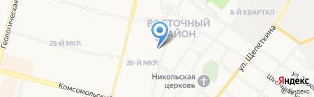 Детский сад №92 на карте Сургута
