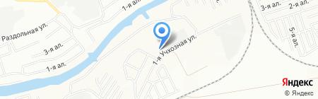 Вечерняя сменная общеобразовательная школа №33 для глухих и слабослышащих на карте Омска