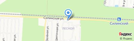 Пекарня на карте Сургута