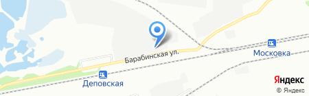 Мегаполис на карте Омска