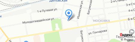 Стимул-софт на карте Омска