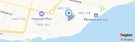 Корона на карте Сургута