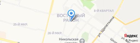 Отдел дознания по г. Сургуту и Сургутскому району на карте Сургута