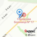 Слав текс на карте Омска