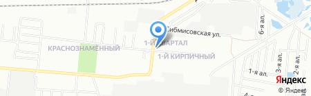 Атри на карте Омска