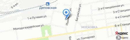 Солнышко на карте Омска
