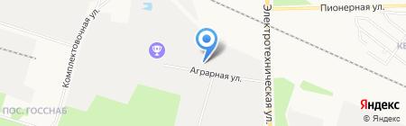 Грузлайн на карте Сургута