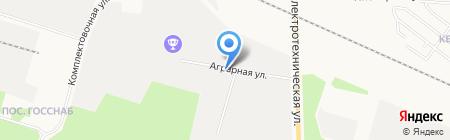 Системы информационных технологий на карте Сургута