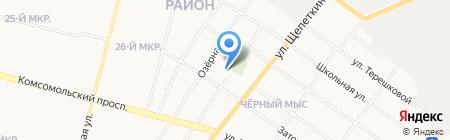 Православный храм святителя Николая Чудотворца на карте Сургута