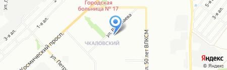 Сеть фотосалонов на карте Омска