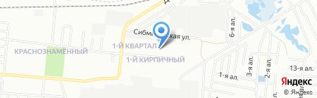 Средняя общеобразовательная школа №81 на карте Омска
