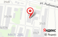 Схема проезда до компании Югра-Продукт в Сургуте