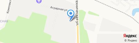 Светлячок на карте Сургута
