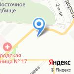 Магазин фастфудной продукции на карте Омска