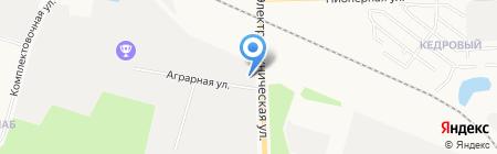 Спецрегионавтоматика на карте Сургута