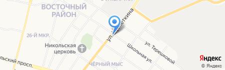 Иван да Марья на карте Сургута