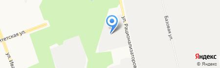 СУРГУТИНСТРОЙ на карте Сургута