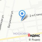 Юлида на карте Омска